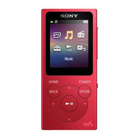 Sony NWZ-E393, 4GB, červená; NWE393R.CEW