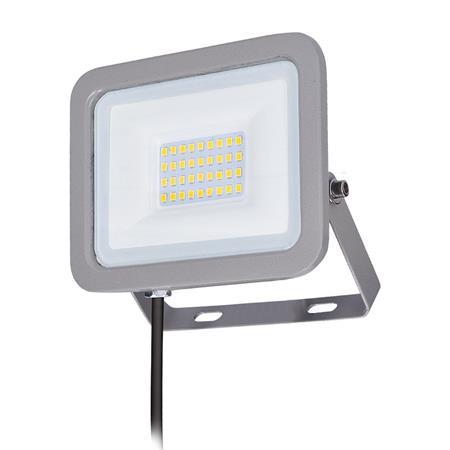 Solight LED reflektor Home, 30W, 2250lm, 4000K, IP65, šedý; WM-30W-M - Solight WM-30W-M