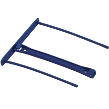 Archivační spona Fellowes PRO, délka 100 mm, (50ks), modrá; FELARCHPRO100B50