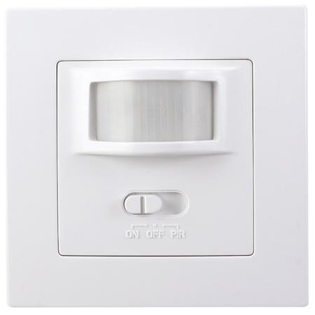 Solight PIR senzor interiérový, do krabičky od vypínačů, funkce zapnutí-vypnutí senzoru, bílý; WPIR01