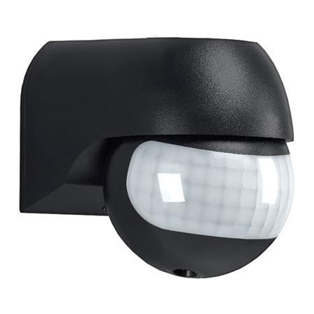 Solight PIR senzor nástěnný, venkovní, černý; WPIR04-B - Solight W04-B černý