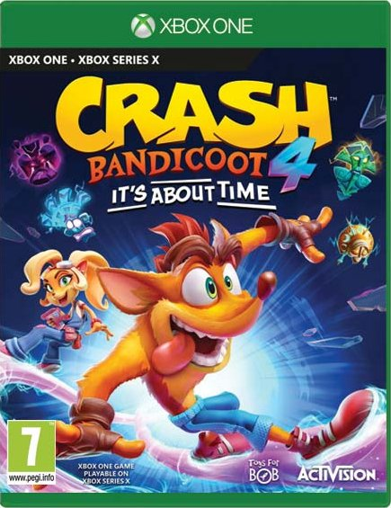 Crash Bandicoot 4: Its About Time (Xbox One); 9108057