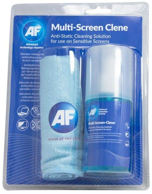 AF Multi-screen Cleen - Antistatický čistič obrazovek (CRT, LED, LCD) 200ml, včetně utěrky; AMCA_200MIF
