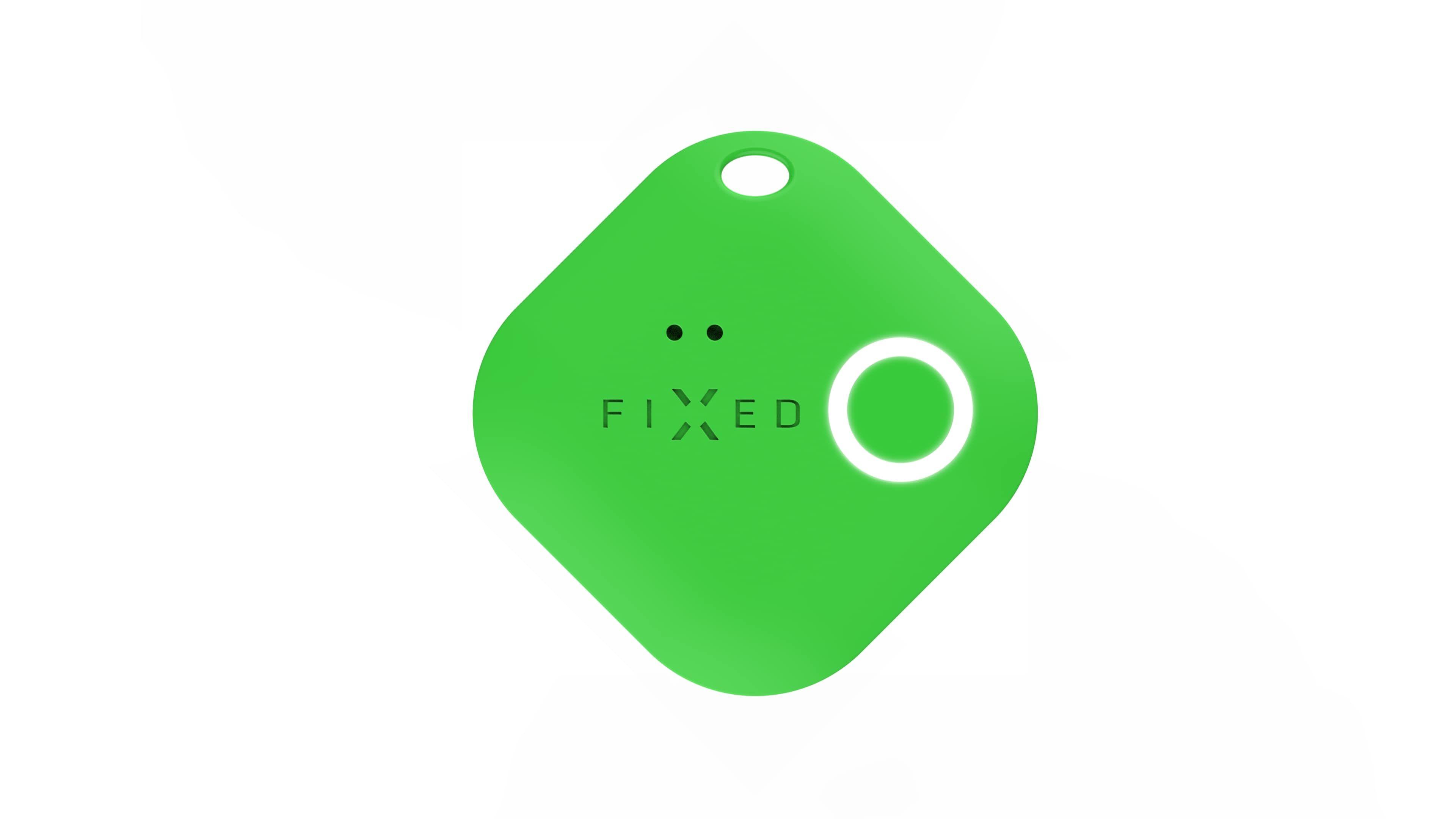 FIXED Smart tracker Smile s motion senzorem, zelený; FIXSM-SMM-GN - FIXED Key finder Smile s motion senzorem zelená FIXSM SMM GN
