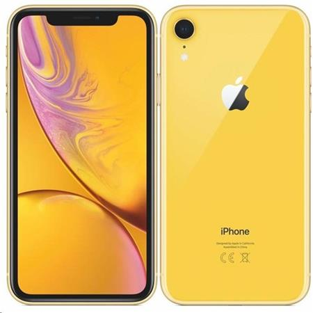 Apple iPhone XR 128GB Yellow; mh7p3cn/a