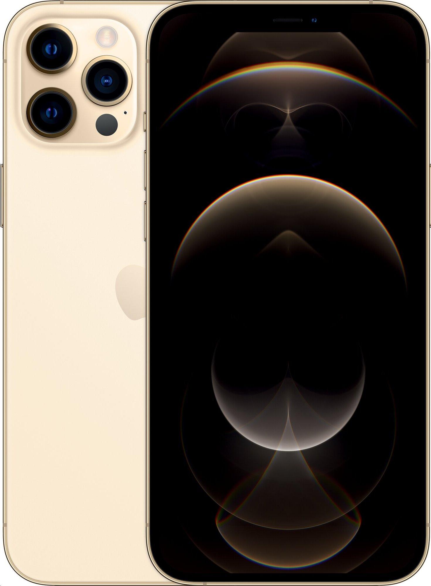 Apple iPhone 12 Pro Max 128GB Gold; mgd93cn/a