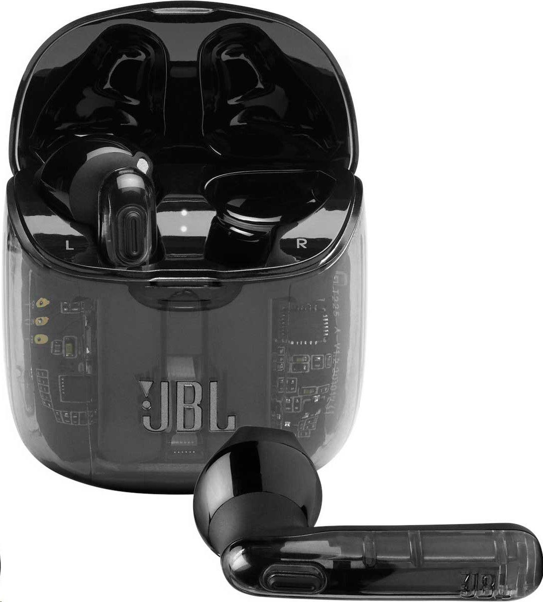 JBL Tune 225TWS, černé; JBL T225TWSBK