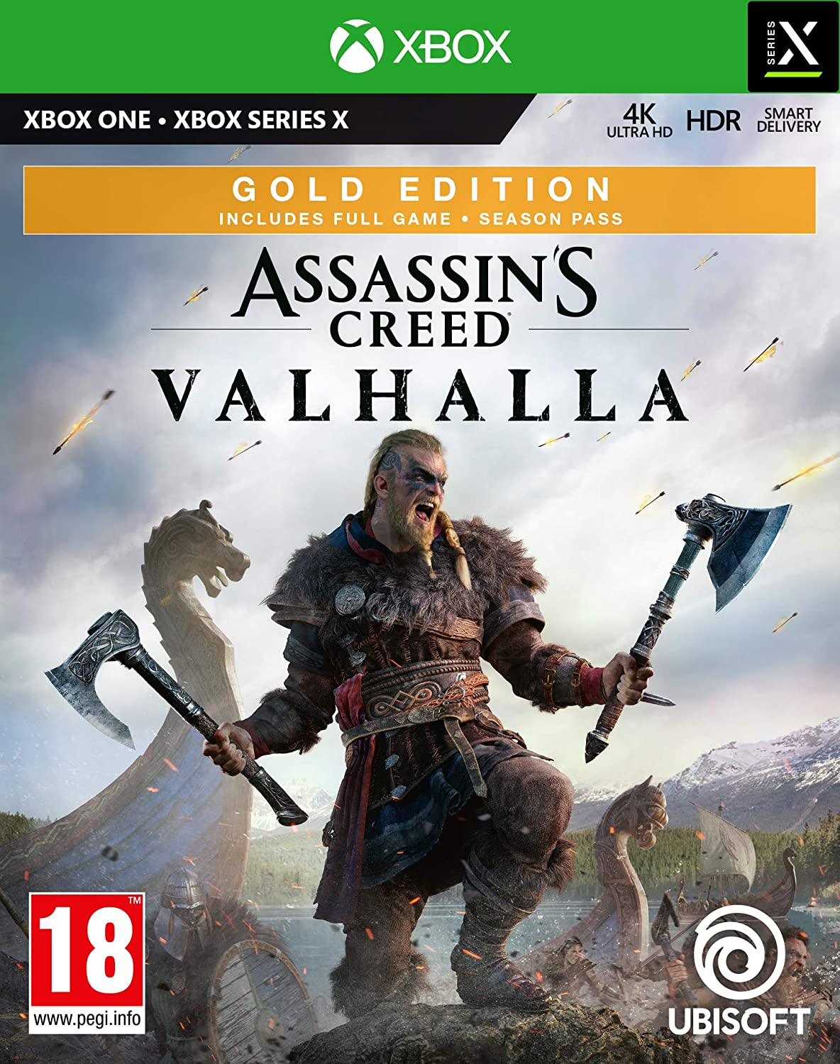 Assassins Creed Valhalla - Gold Edition (Xbox One); 9107743