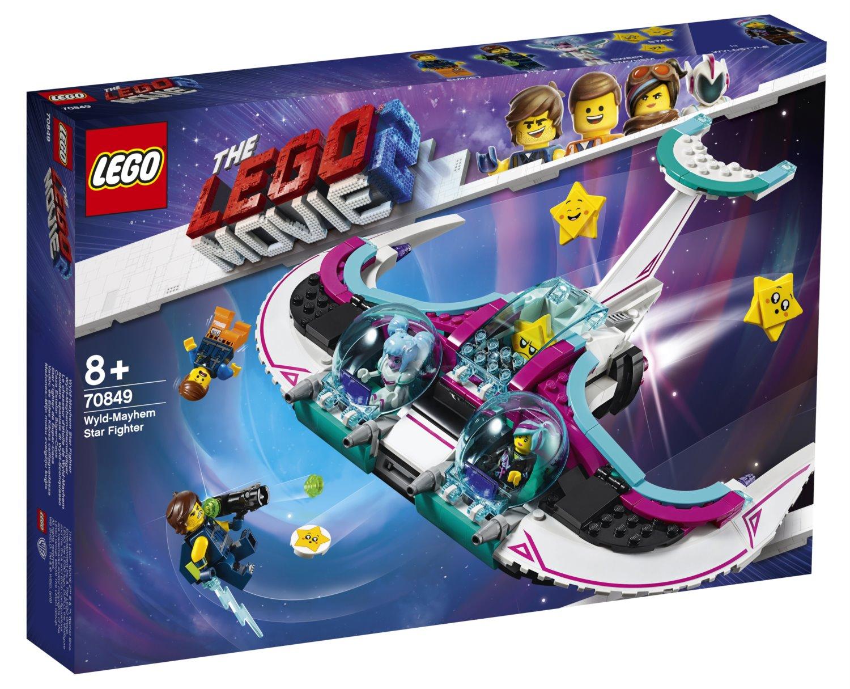LEGO Movie 2 70849 Zdivočelá Mela a její stíhačka; 130232