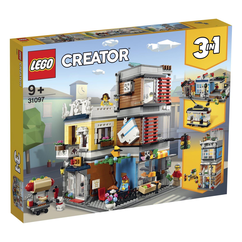 LEGO Creator 31097 Zverimex s kavárnou; 130705