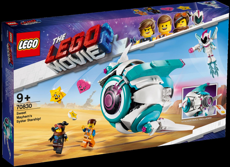 LEGO Movie 2 70830 Kosmická loď generálky Mely; 129010