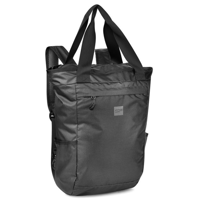 Spokey OSAKA Batoh a taška v jednom 20 l, černý; K928582