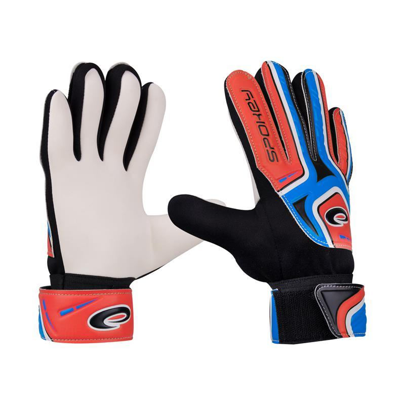 Spokey CATCH II brankářské rukavice roz.5 modro-čevené; K838066