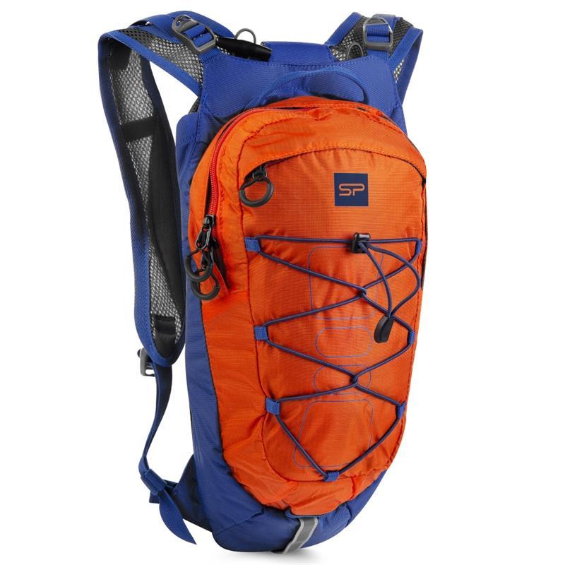 Spokey DEW Sportovní, cyklistický a běžecký batoh 15 l, oranžovo-modrý; K926801