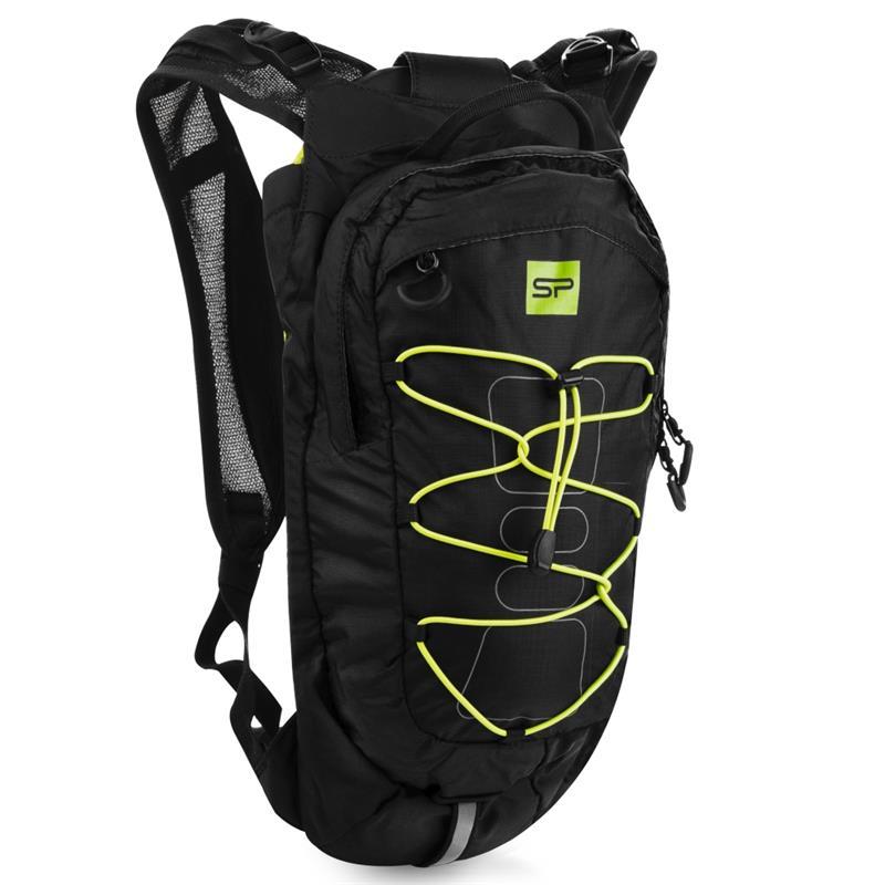 Spokey DEW Sportovní, cyklistický a běžecký batoh 15 l, černo-žlutý; K926803