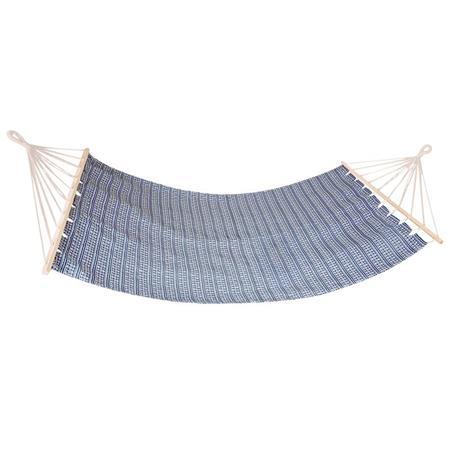 Spokey ZUNI Houpací síť do 120 kg, modro-bílá; K921920