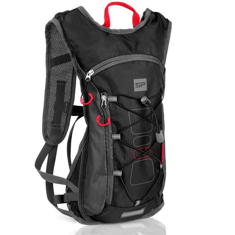Spokey FUJI Sportovní, cyklistický a běžecký batoh 5 l černý; K924969