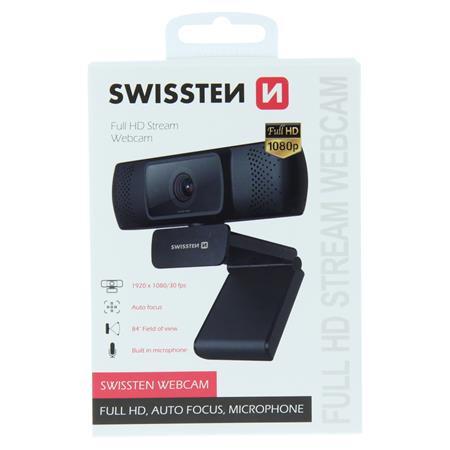 Swissten Webcam FHD 1080P ; 55000001