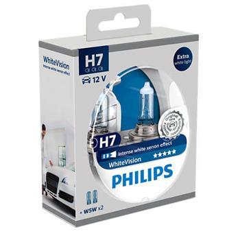 Philips WhiteVision 12972WHVSM H7 PX26d 12V 55W; 12972WHVSM