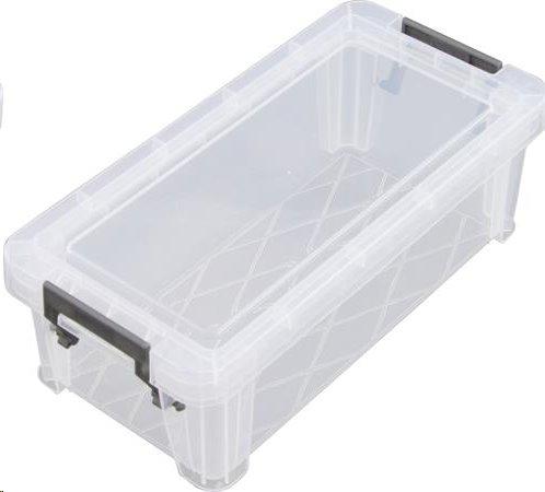 Allstore Box, plastový, s víkem, 1,3 l, průhledný; S20F013