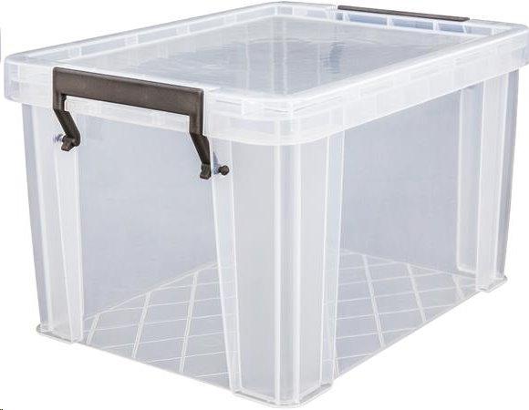 Allstore Box, plastový, s víkem, 5 l, průhledný; S20K050