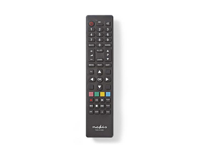 Dálkový ovladač NEDIS TVRC1010BK; TVRC1010BK
