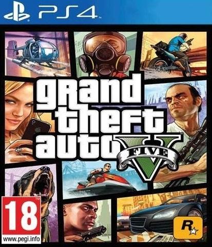 Grand Theft Auto V (GTA 5) (PS4); 9101297