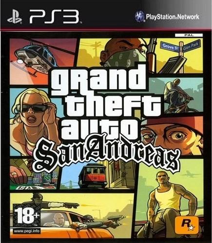 Grand Theft Auto San Andreas (PS3); 70352