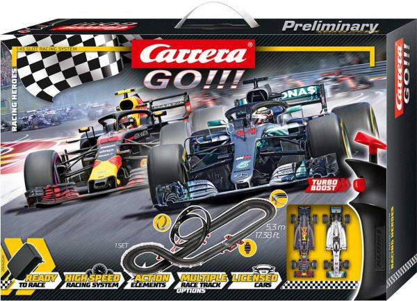Autodráha Carrera GO 62524 Racing Heroes; GCG1246