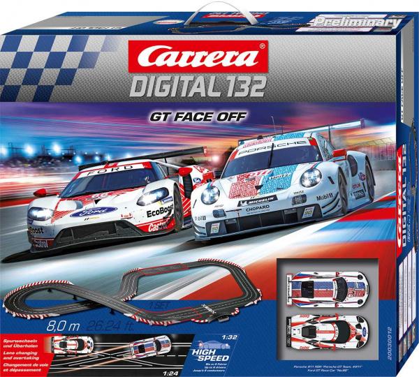 Autodráha Carrera D132 30012 GT Face Off; GCD1067