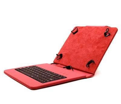 """C-TECH PROTECT NUTKC-02, pouzdro s klávesnicí pro 8"""", červená; NUTKC-02R"""