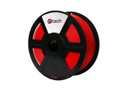 HIPS RED červená C-TECH, 1,75mm, 1kg; 3DF-HIPS1.75-R