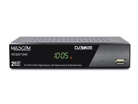 MASCOM MC820T2 HD DVB-T2 H.265/HEVC; MC820T2