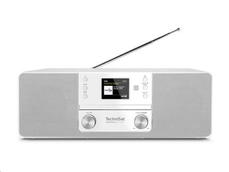 TechniSat DIGITRADIO 371 CD IR bílé; T00013949