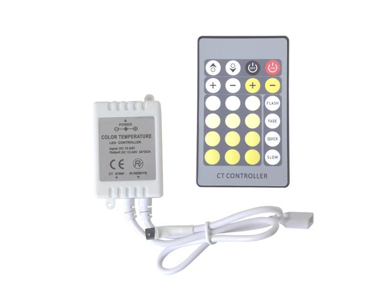 Tipa Ovladač pro LED pásek variabilní IR; 04151083