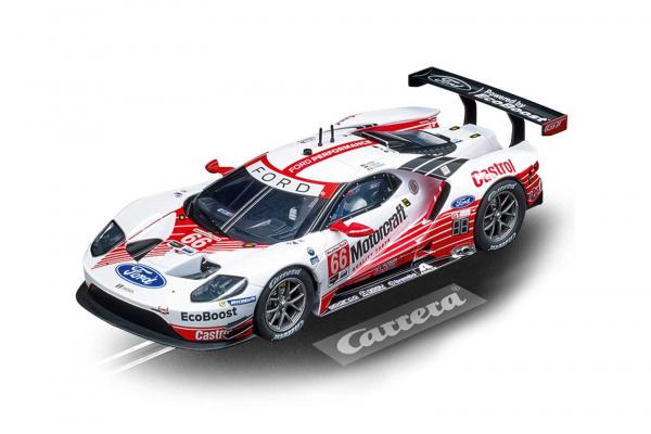 Auto Carrera D124 - 23893 Ford GT Race Car No.66; GCXD2145