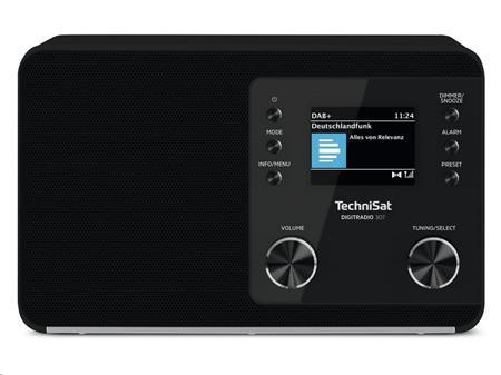 TechniSat DIGITRADIO 307 černé; T00003947