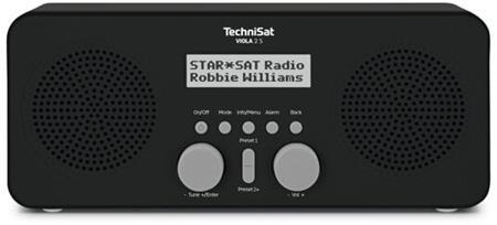 TechniSat VIOLA 2 S černé/bílé; T00023934
