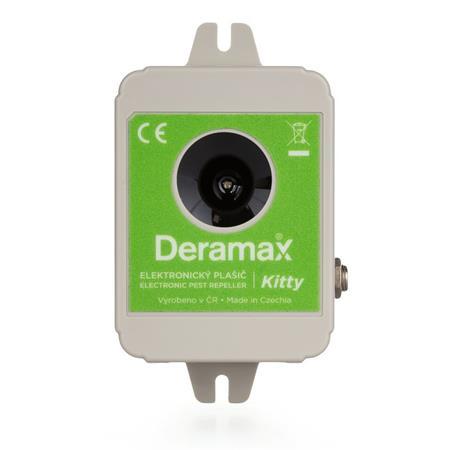 Deramax Kitty ultrazvukový plašič/odpuzovač koček a psů; 4710220