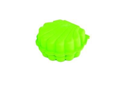Pískoviště / bazének Mušle s krytem - 2 ks - zelená; 11640398