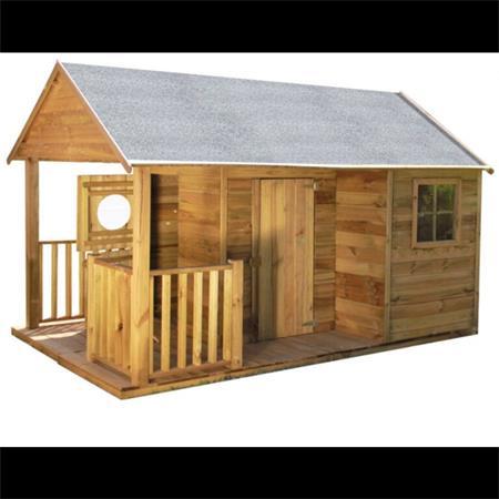 Domeček dětský dřevěný Farma; 11640426