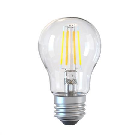 Tellur WiFi Smart žárovka Filament E27, 6 W, čirá, teplá bílá; TLL331181