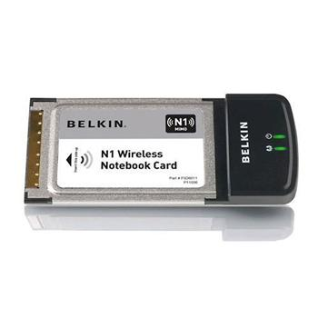 Belkin N1 Wireless NoteBook Adapter; F5D8011yy
