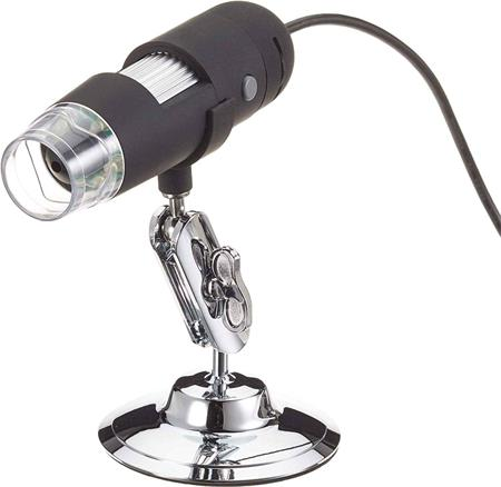 PremiumCord USB digitální mikroskop Full HD 1920x1080, zvětšení: 30-200x; kumikroskop