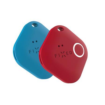 Smart tracker FIXED Smile PRO, Duo Pack - modrý + červený; FIXSM-SMP-BLRD