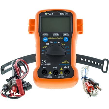 RETLUX RDM 5001 Digitální multimetr; 50002705