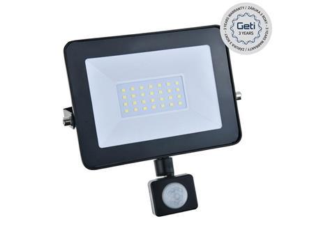 Geti LED reflektor GLF30P 30W s PIR čidlem; 04181431