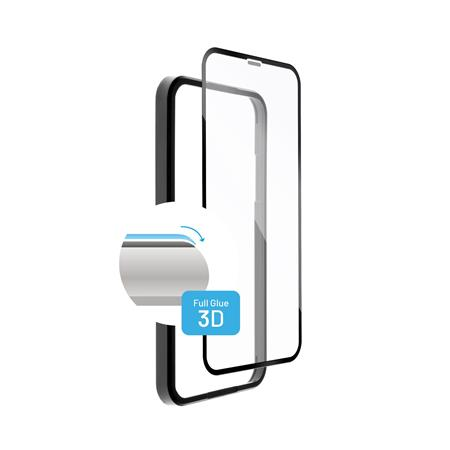 Ochranné tvrzené sklo FIXED 3D Full-Cover s aplikátorem pro Apple iPhone 12 Pro Max, černé; FIXG3DA-560-BK