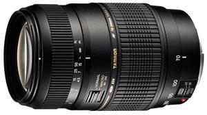 TAMRON AF 70-300mm F/4-5.6 Di pro Canon LD Macro 1:2; A17E