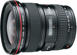 Canon EF 17-40mm f/4 L USM; 8806A011AA